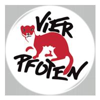 Logo Vier Pfoten